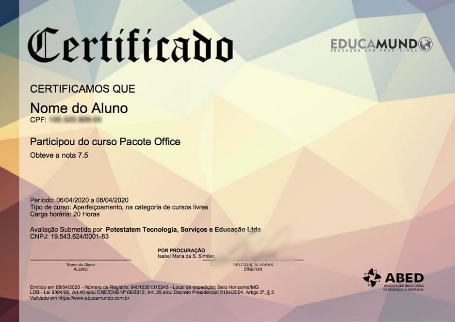 Cursos Online Com Certificado Cargas Horarias Flexiveis Educamundo Educacao A Distancia