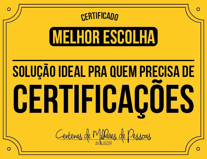 Melhor Certificado
