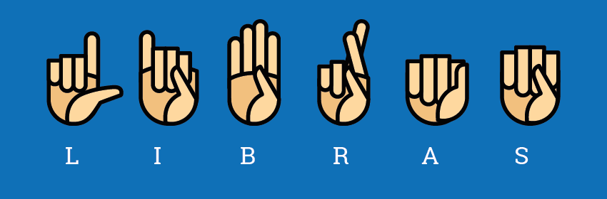 cursos online e língua brasileira de sinais