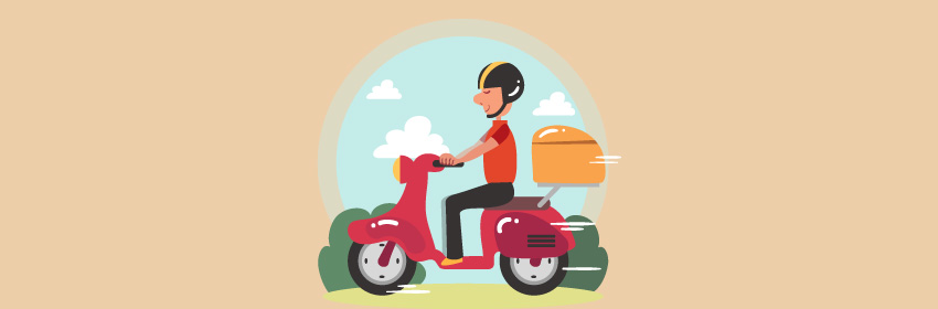 acidentes com moto