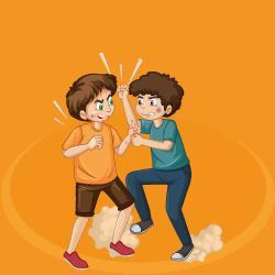 agressividade na escola