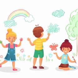 como desenhar ajuda no desenvolvimento de crianças