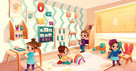 relatório de educação infantil
